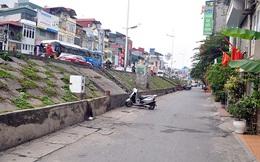 Mặt đê Sông Hồng mở rộng thêm 7m đoạn đi qua quận Hai Bà Trưng, Hà Nội