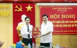 Quảng Ninh bổ nhiệm Giám đốc Sở Tư pháp