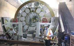 Tuyến metro số 1 (Bế Thành-Suối Tiên) dùng robot để đào hầm đoạn Nhà hát Tp.HCM đến ga Ba Son