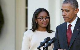 Vì sao ái nữ nhà Obama vắng mặt trong lễ chia tay của bố?