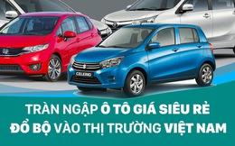 Tràn ngập ô tô giá siêu rẻ sắp đổ bộ vào thị trường Việt Nam