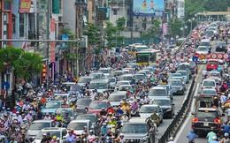 Nghịch lý ở Hà Nội: Nhiều tuyến đường giảm tải đang... quá tải