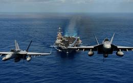 Lần đầu tiên sau 1 thập kỷ, 3 tàu sân bay Mỹ cùng hiện diện ở Tây Thái Bình Dương