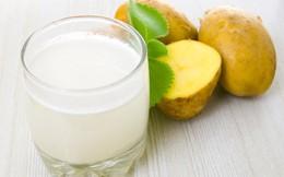 Làm sạch gan bằng nước ép khoai tây và những lợi ích sức khỏe không phải ai cũng biết