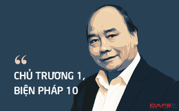 10 phát ngôn nổi bật của Thủ tướng Nguyễn Xuân Phúc tại hội nghị trực tuyến Chính phủ cuối năm