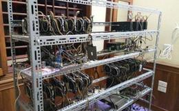Máy đào tiền ảo về TP HCM tăng đột biến chỉ trong 2 tháng