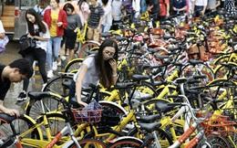 """""""Ngập lụt"""" trong xe đạp, Trung Quốc dừng bổ sung thêm xe mới"""