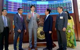 Thủ tướng Canada Justin Trudeau đến thăm Sở Giao dịch Chứng khoán TPHCM (HOSE)