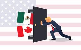 """Tổng thống Trump khẳng định không chấm dứt NAFTA """"vào lúc này"""""""