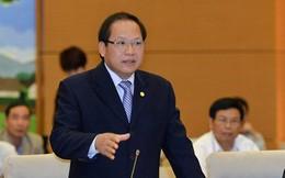 Bộ trưởng Bộ TT&TT Trương Minh Tuấn trả lời chất vấn