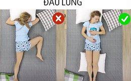 Tư thế nằm giúp bạn ngủ ngon hơn