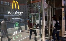 """Dịch vụ giao đồ ăn, """"cần câu"""" mới của Uber dự đoán đạt doanh thu 3 tỉ USD"""