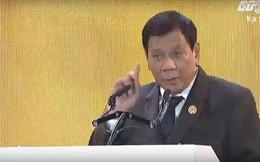 Tổng thống Philippines Duterte: Các nước đang phát triển không cần viện trợ nhân đạo, điều chúng tôi cần là được tiếp cận thị trường!