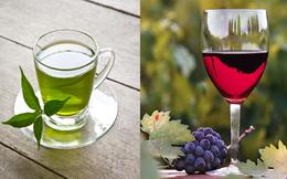 Bí quyết trẻ lâu, sống khỏe: Đây là lí do người Nhật chuộng trà xanh, người châu Âu thích vang đỏ