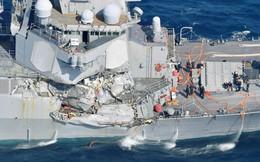 Tìm thấy thi thể lính Mỹ trên tàu chiến Mỹ bị va tàu với Philippines