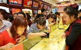 Giá vàng đã 'bay mất' khoảng 1,7 triệu đồng/lượng
