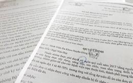 Xuất hiện văn bản giả mạo chữ ký Bộ trưởng Kế hoạch & Đầu tư