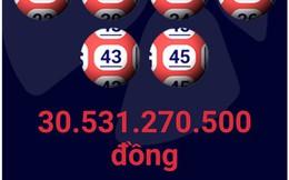 Vé số trúng 30 tỷ đồng vào thứ sáu phát hành tại TP.HCM