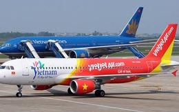 Vietjet vượt qua Vietnam Airlines về vận chuyển khách nội địa trong dịp Tết Đinh Dậu
