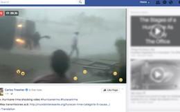 Video giả mạo về siêu bão Irma hút hàng chục triệu lượt xem trên Facebook
