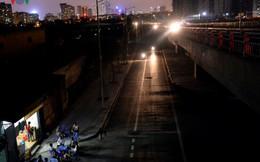 """Con đường nghìn tỷ """"tối tăm mù mịt"""" gây mất an toàn giao thông"""