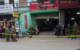 Bịt mặt cướp Chi nhánh ngân hàng Agribank ở Bắc Giang
