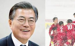 Tổng thống Hàn Quốc ca ngợi chiến công của U23 Việt Nam và HLV Park Hang-seo trên trang Facebook cá nhân