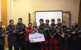 Tổng cục Thuế: Không thu thuế tiền thưởng diện quà tặng cho cầu thủ U23 Việt Nam