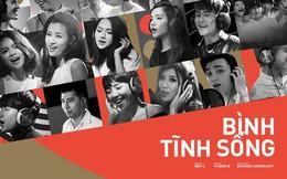 """Không thể không xem: 19 ca sĩ, nhóm nhạc đình đám Vpop hòa giọng đầy cảm xúc trong MV ca khúc chủ đề của album """"Bình tĩnh sống""""."""