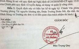 """Nhiều cán bộ Sở TN-MT Thanh Hóa """"mất ghế"""" sau rà soát"""