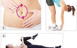 5 bài thể dục tốt cho người đau dạ dày