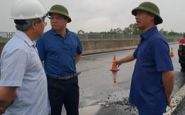 Thứ trưởng Bộ GTVT công bố tên 2 nhà thầu thi công đoạn cao tốc 34 nghìn tỉ hư hỏng