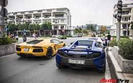 Những siêu xe hàng đầu Việt Nam nối đuôi, khuấy động Sài Gòn