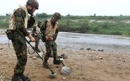 Hòa bình lập lại, Hàn – Triều gỡ mìn dọc biên giới