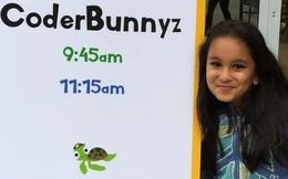Nữ coder nhí 10 tuổi sở hữu công ty riêng, nhận được lời mời làm việc của Google
