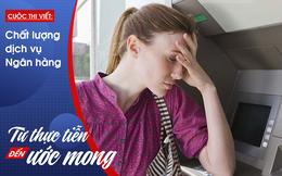 Đi giao dịch ở ngân hàng, bị nhân viên bảo hiểm chèo kéo, đến lúc về nhà vẫn không hiểu tại sao lại...bỏ tiền mua hợp đồng