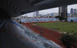 """Cảnh hoang phế bên trong sân vận động Chi Lăng sau 8 năm được """"gả"""" cho Phạm Công Danh"""