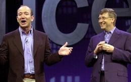 Giá cổ phiếu rớt mạnh, Amazon bị Microsoft vượt lên về giá trị vốn hóa