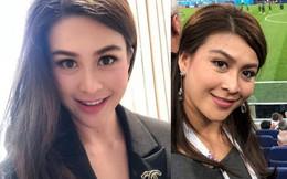 Sự nghiệp không phải dạng vừa của nữ trợ lý tử nạn cùng chủ tịch Leicester - Á hậu Hoàn vũ Thái Lan