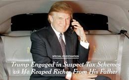 Tổng thống Trump bị điều tra sau khi tờ New York Times cáo buộc ông trốn thuế 550 triệu USD