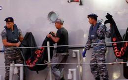 Đội cứu hộ Indonesia mang 24 túi đựng thi thể nạn nhân vụ máy bay Lion Air rơi về nơi nhận dạng