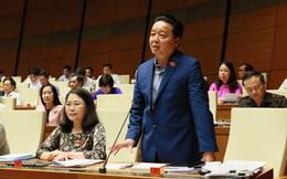 """Đại biểu chất vấn về đất đai, Bộ trưởng nhắc lại câu có hiện tượng """"đất công biến thành đất ông"""""""