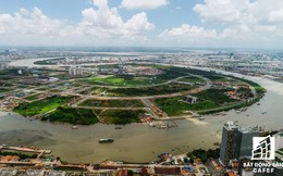Ngắm diện mạo các khu đô thị hiện đại dọc hai bờ sông Sài Gòn từ tuyến xe buýt đường sông