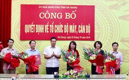 Điều động, bổ nhiệm nhân sự tỉnh Hà Giang