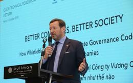 Đặc phái viên thương mại của Thủ tướng Anh: Cải thiện công tác quản trị doanh nghiệp sẽ mang lại nhiều lợi ích hơn cho nền kinh tế Việt Nam