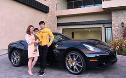 """""""Rich kid"""" chính hiệu của Vbiz : Sống trong biệt thự triệu đô, được tặng xe hơi mừng sinh nhật"""