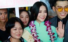 Những hình ảnh đầu tiên của Phương Khánh tại Việt Nam sau 1 tuần đăng quang HH Trái đất: Không vương miện, không siêu xe