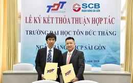 SCB ký kết hợp tác với trường đại học Tôn Đức Thắng