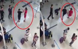 Xuất hiện clip ghi lại toàn bộ hình ảnh vụ hành hung nữ nhân viên hàng không sân bay Thọ Xuân