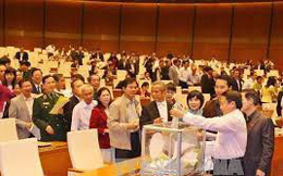 Hà Nội lấy phiếu tín nhiệm đối với 36 chức danh lãnh đạo